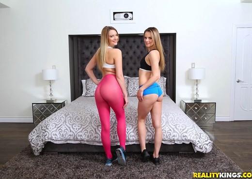Jillian Janson, Kenna James - Ass Attraction - Lesbian Porn Gallery