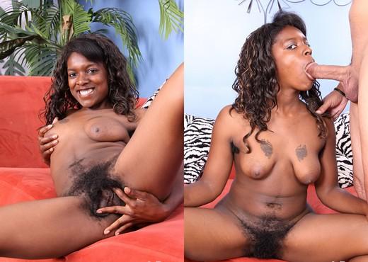 Jordan Love - Cum On My Hairy Pussy #14 - Ebony Nude Pics