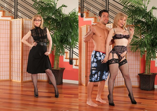Nina Hartley - It's Okay She's My Mother In Law #05 - MILF Hot Gallery