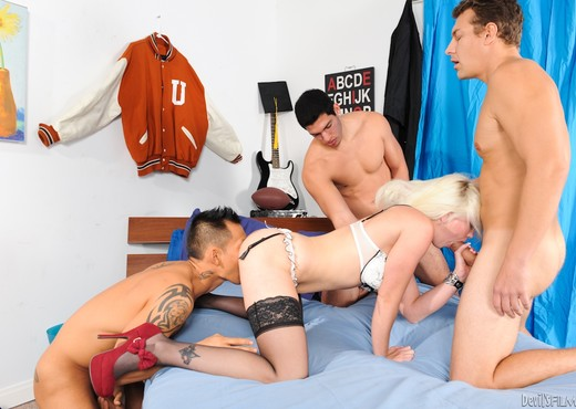 Whitney Grace - University Gangbang #12 - Hardcore Sexy Photo Gallery