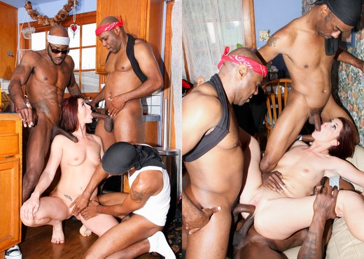 GangLand Cream Pie #26 - Interracial Porn Gallery
