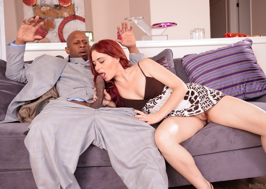 Jessica Ryan - My New Black Stepdaddy #15 - Interracial Sexy Photo Gallery