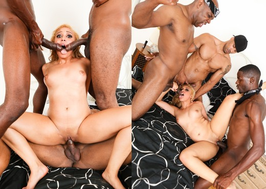 Tinslee Reagan, Jason B, Robert Axel - Gangland #85 - Interracial Sexy Gallery