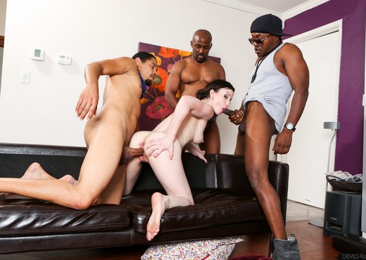 Jennifer White - GangLand Cream Pie #28 - Interracial HD Gallery