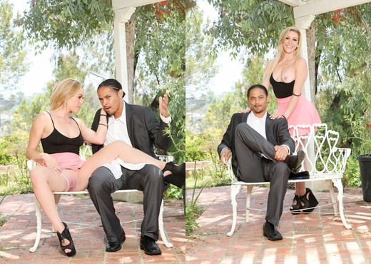 Danielle Diamond, Dsnoop - My New Black Stepdaddy #17 - Interracial Image Gallery