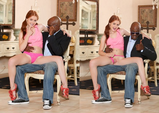 Alice Green - My New Black Stepdaddy #17 - Interracial TGP