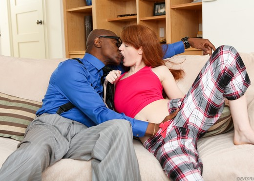 Abby Rains - My New Black Step Daddy #18 - Interracial HD Gallery