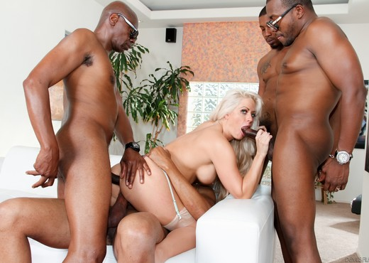 Holly Heart, Isiah Maxwell - Blacked Out #03 - Interracial Nude Gallery