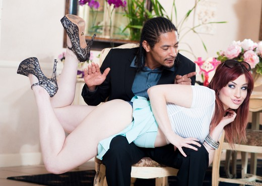 Jessica Ryan, Dsnoop - My New Black Stepdaddy #19 - Interracial Picture Gallery