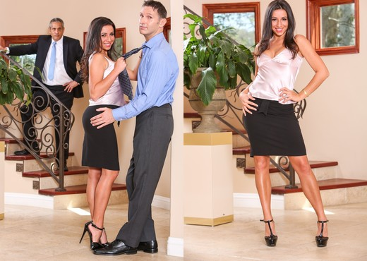 Stephanie Moretti - Seduced By The Boss's Wife - Hardcore Sexy Gallery