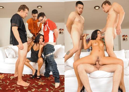 Danica Dillon - College Group Sex - Hardcore Nude Pics