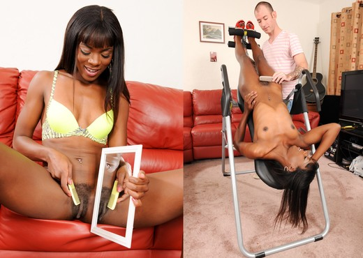 Ana Foxxx - Hair There and Everywhere - Ebony Hot Gallery