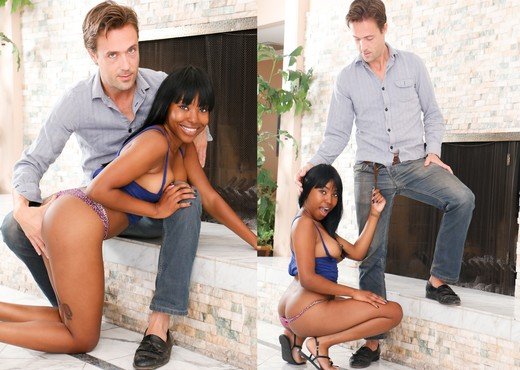 Ashton Devine, Richie Calhoun - My New White Stepdaddy #11 - Ebony TGP