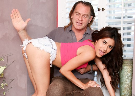 Ava Mendes - My New White Stepdaddy #11 - Latina Hot Gallery