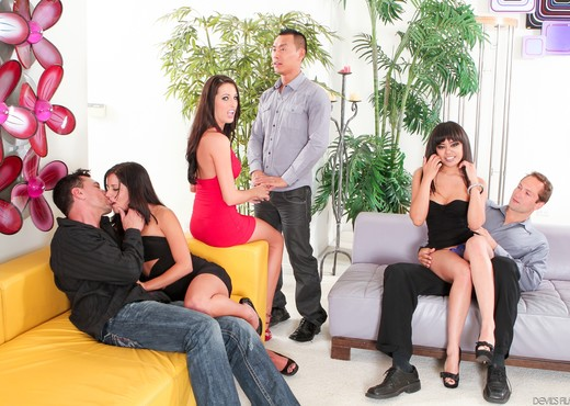 Kortney Kane, Annie Cruz, Missy Maze - SO CAL Swingers Club - Hardcore Sexy Photo Gallery