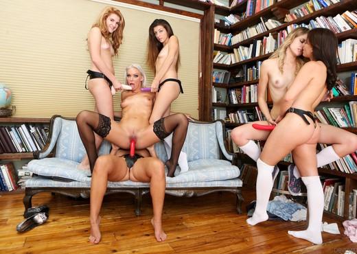 Seduction Of Savannah Snow - Lesbian Porn Gallery