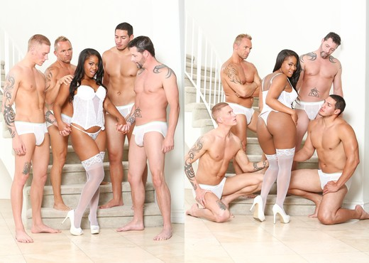 Monique Symone, Jack Vegas, Marcus London - White Out - Ebony TGP