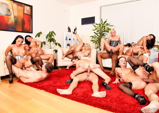 Bachelor Party Orgy #02 - Hardcore HD Gallery
