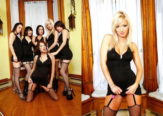 Girly Gang Bang #10 - Lesbian Nude Gallery
