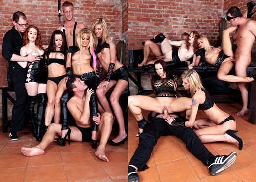 Bella Baby, Sindy Vega - Bachelor Party Orgy #05 - Hardcore TGP