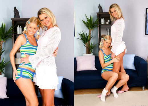 Sarah Blue, Wendy - Her First MILF #05 - Lesbian Nude Gallery