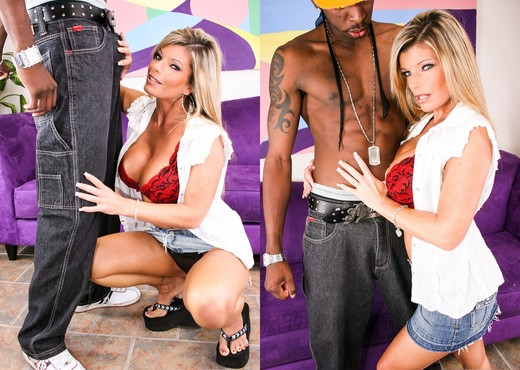 Krystal Summers - Black Bros And Milf Ho's - Interracial Nude Gallery