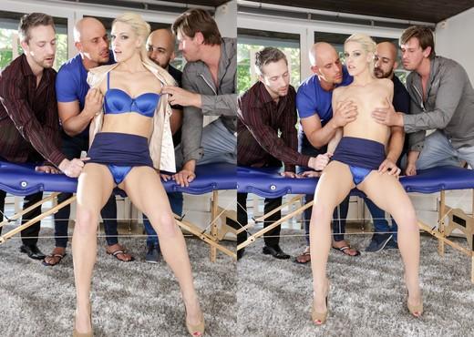 Blanche Bradburry - 4 On 1 Gang Bangs #06 - Hardcore Porn Gallery