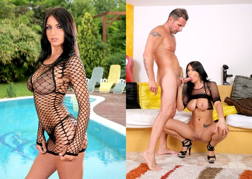 Roxy Taggart, David Perry - Big Natural Tits #23 - Anal TGP