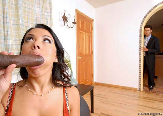 Sienna West - Evil Cuckold - Interracial Picture Gallery