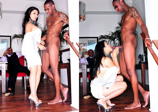 Mika Tan - Jet Black Fuel #02 - Interracial Image Gallery