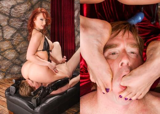 Nicki Hunter, Jack Vegas - Femdom Ass Worship #08 - Ass Porn Gallery