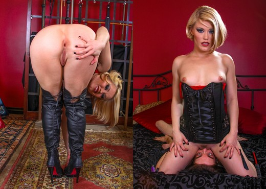 Ash Hollywood, Deviant Kade - Femdom Ass worship #17 - Ass Nude Pics