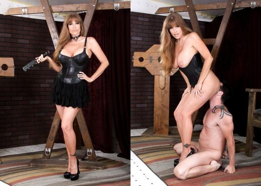 Darla Crane, Jack Vegas - Femdom Ass Worship #19 - Ass Nude Pics