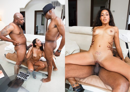 Leah Luxxx, Mr. Marcus - The Black Pack - Ebony Picture Gallery