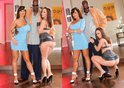 Lisa Ann, Jada Stevens - Lex VS Lisa Ann - Interracial Hot Gallery