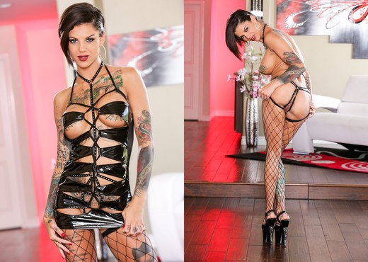 Bonnie Rotten - Inked Angels - Anal Nude Pics