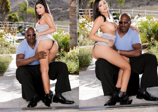 Miya Stone - Lex Poles Little Holes #02 - Interracial Sexy Photo Gallery