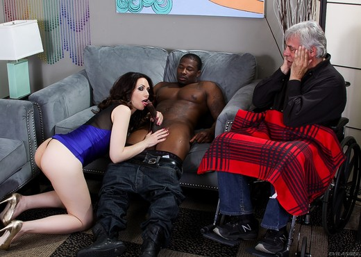 Sarah Shevon - Mean Cuckold #05 - Interracial Hot Gallery