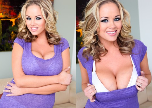 Katie Kox - Pearl Necklaces - Boobs Sexy Photo Gallery