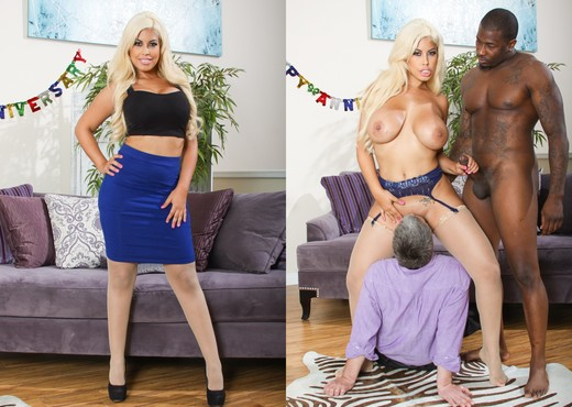 Bridgette B. - Mean Cuckold #06 - Interracial Picture Gallery