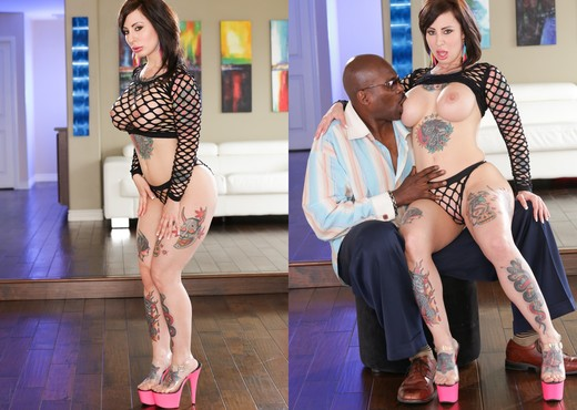 Dollie Darko - Lex's Tattooed Vixens #02 - Interracial Sexy Photo Gallery