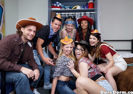 Anastasia Rose - Western Party - Dare Dorm - Amateur Nude Pics