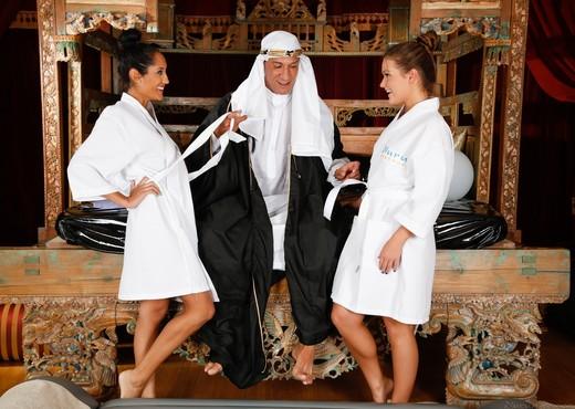 Abby Cross, Chloe Amour - The Sheik - Fantasy Massage - Hardcore Sexy Gallery