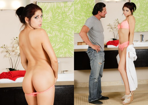 Nikki Knightly - Scumbag Stepdad - Fantasy Massage - Hardcore TGP