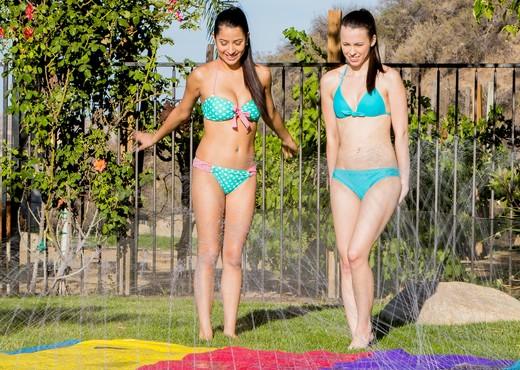 Megan Salinas, Veronika - Summer Fun - Girlsway - Lesbian HD Gallery