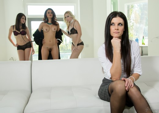 The Business of Women Part Six: The Showdown - Girlsway - Lesbian Nude Pics