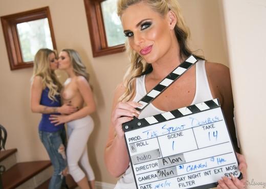 Mia Malkova, Phoenix Marie, Jessa Rhodes - The Stunt Double - Lesbian HD Gallery