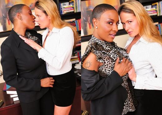 Lesbian Office Seductions #03 - Lesbian Hot Gallery