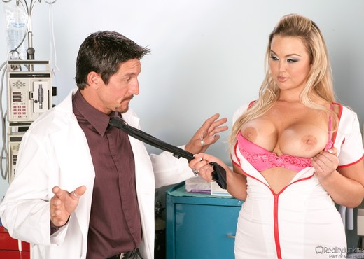 Abbey Brooks - Big Breast Nurses - Hardcore Sexy Gallery