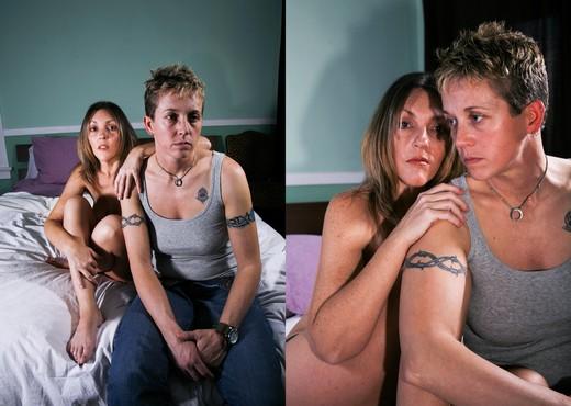 Zoey Stone, Alex Mackay - Angel - Lesbian Sexy Gallery